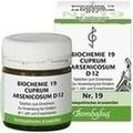 BIOCHEMIE 19 Cuprum arsenicosum D 12 Tabletten