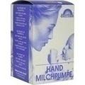 MILCHPUMPE FRANK Hand m.Auffangbeh.Glas m.Abl.