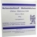 VERBANDZELLSTOFF WATTEBLÄTTCHEN hochgebl.20x20 cm