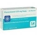 Paracetamol 125 mg Supp. - 1A-Pharma®