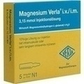 MAGNESIUM VERLA i.v./i.m. Injektionslösung