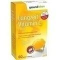 gesund leben Langzeit Vitamin C + Zink Depot-Kapseln