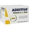 ADDITIVA Vitamin C+Zink Depotkaps.Aktionspackung