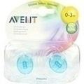AVENT Schnuller durchsichtig 0-3 Mon.BPA-frei