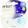 AVENT Schnuller für die Nacht 3-6 Mon.BPA-frei
