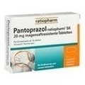 PANTOPRAZOL ratiopharm SK 20 mg magensaftres.Tabl.