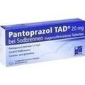PANTOPRAZOL TAD 20 mg b.Sodbrenn. magensaftr.Tabl.