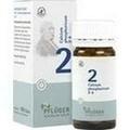 BIOCHEMIE Pflüger 2 Calcium phosph.D 6 Tabletten