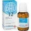 BIOCHEMIE DHU 12 Calcium sulfuricum D 6 Tabl.Karto