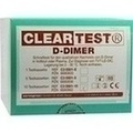 D DIMER Cleartest Vollblut TVT LE DIC