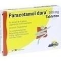 PARACETAMOL dura 500 mg Tabletten