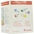 SAFETY Lanzette 21 G norm.grün Einst.Tiefe 1,8 mm
