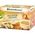 BAD HEILBRUNNER Tee Ingwer Honig Filterbeutel