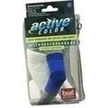 BORT ActiveColor Ellenbogenbandage small blau