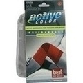 BORT ActiveColor Kniebandage large rot