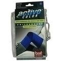 BORT ActiveColor Kniebandage small blau