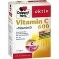 DOPPELHERZ Vitamin C 600+Vitamin D Tabletten