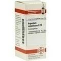 ARGENTUM METALLICUM D 10 Globuli
