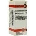 NATRIUM NITRICUM D 12 Globuli