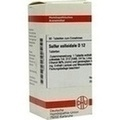 SULFUR COLLOIDALE D 12 Tabletten