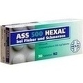 ASS 500 HEXAL Tabletten