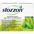 STOZZON Chlorophyll überzogene Tabletten