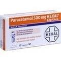 PARACETAMOL 500 mg HEXAL Zäpfchen