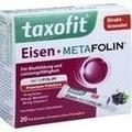 TAXOFIT Eisen+Metafolin Granulat