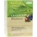 CRANBERRY BLAUBEERE Tee Kraft d.Natur Salus Fbtl.