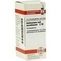 ANTIMONIUM SULFURATUM aurantiacum C 30 Globuli