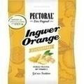 PECTORAL Ingwer Orange Bonbons zuckerfrei