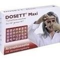 DOSETT Maxi Arzneikassette rot