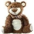 FASHY Wärmflasche Braunbär mit Halstuch
