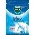 WICK BLAU Bonbons o.Zucker
