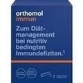 ORTHOMOL Immun Direktgranulat Himbeer/Menthol