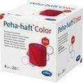 PEHA-HAFT Color Fixierbinde latexf.8 cmx20 m rot