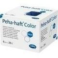 PEHA-HAFT Color Fixierbinde latexf.6 cmx20 m blau