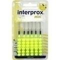 INTERPROX reg mini gelb Interdentalbürste Blister