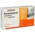 PARACETAMOL ratiopharm 75 mg Suppositorien