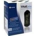 TRUEYOU mini Blutzucker Messsystem mg/dl blau
