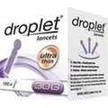 OMRON droplet lancets ultra thin 30 G