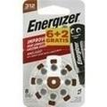 ENERGIZER Hörgerätebatterie 312