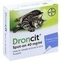 DRONCIT Spot on 40mg/ml Lsg.z.Auftr.a.d.Haut f.Ka.