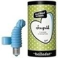 BELLADOT/INGRID Fingervibrator m.Batterien blau