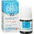 BIOCHEMIE DHU 10 Natrium sulfuricum D 6 Globuli