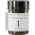 SCHÜSSLER Nr.1 Calcium fluoratum D 12 Tabletten