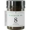 SCHÜSSLER Nr.8 Natrium chloratum D 6 Tabletten