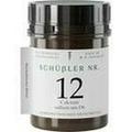 SCHÜSSLER Nr.12 Calcium sulfuricum D 6 Tabletten