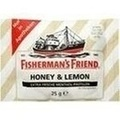 FISHERMANS FRIEND Honey & Lemon ohne Zucker Pasti.