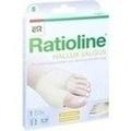 RATIOLINE Hallux valgus Druckschutzpolster Gr.S